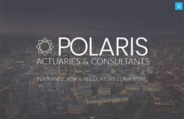 Polaris Actuaries & Consultants - Financial web design by Toolkit Websites, professional web designers
