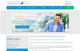 Harlestone Road Dental Practice - Dentist website design by Toolkit Websites, professional web designers