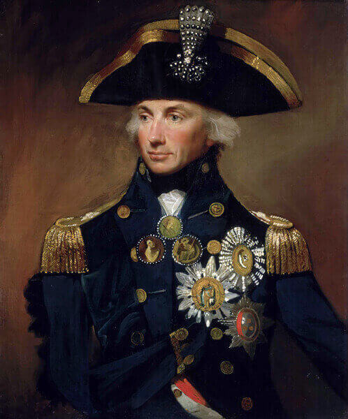 Admiral Lord Nelson painting