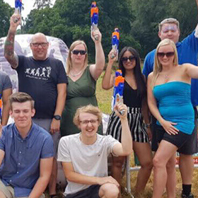 adult nerf party