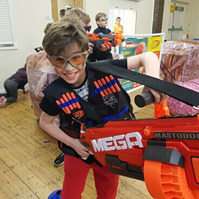 kids nerf party