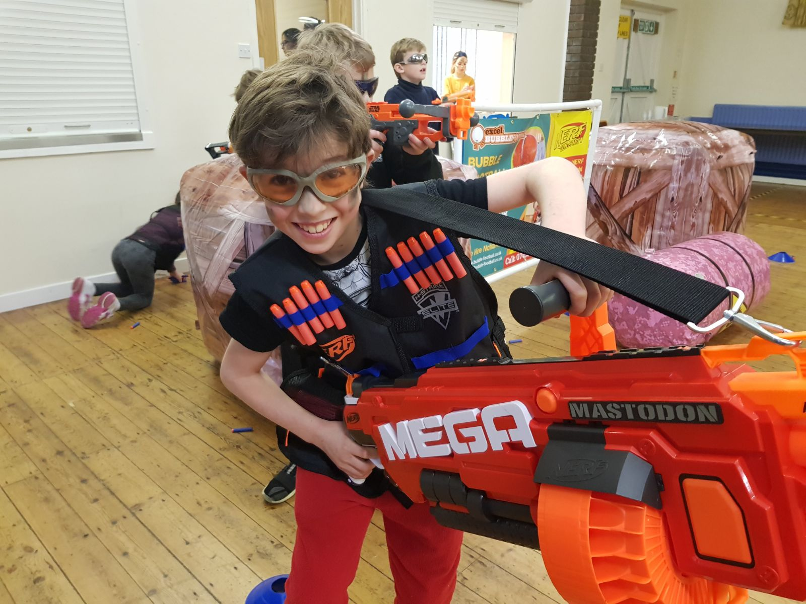Nerf Wars for Kids