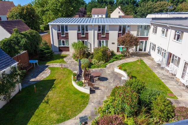 Highfield House Garden Area