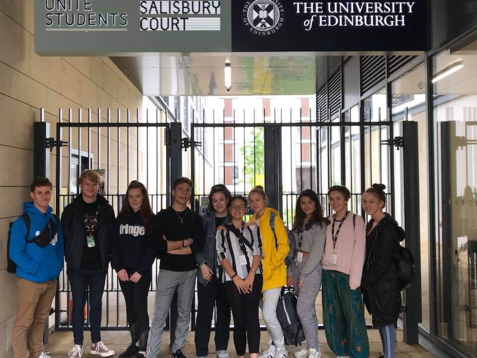 WE productions perform 'Extremism' at The Edinburgh Fringe Festival