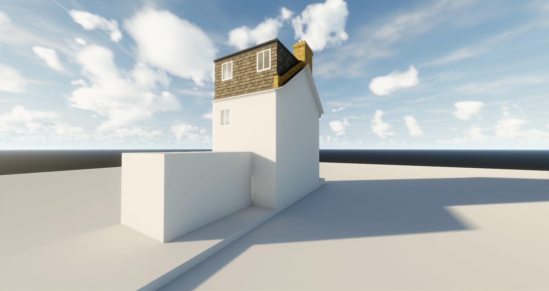 Graphic of Rear Dormer loft conversion