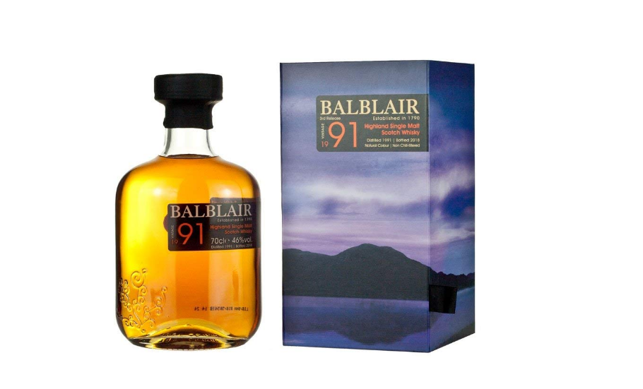 Balblair 1991 Vintage Scotch Whiskey