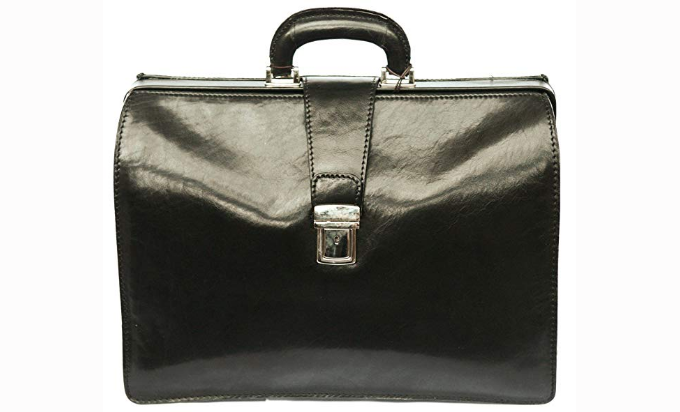 Rivello Top Opening Leather briefcase