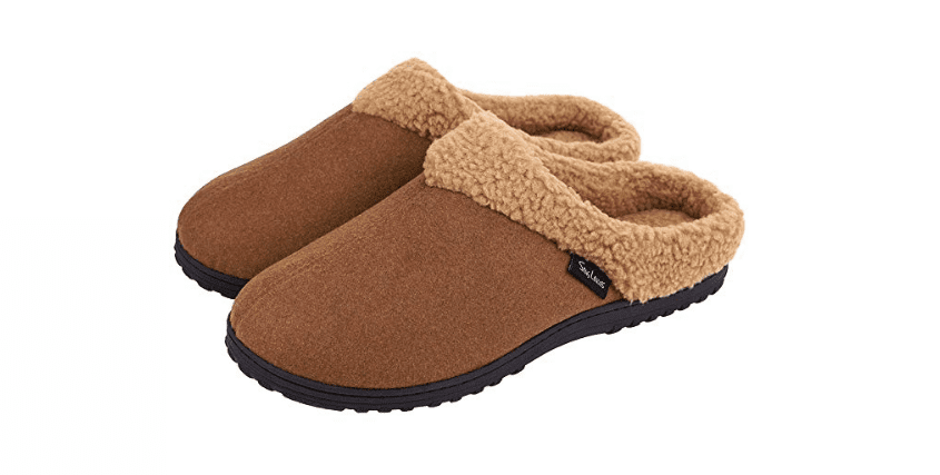 Snug Leaves Memory Foam Slippers