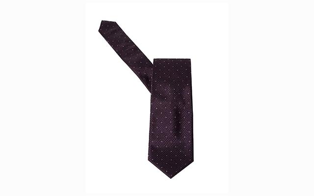Hugo Boss Dot Patterned Silk Tie