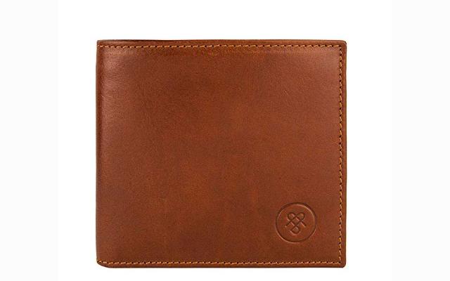 Maxwell-Scott Handmade Leather Wallet