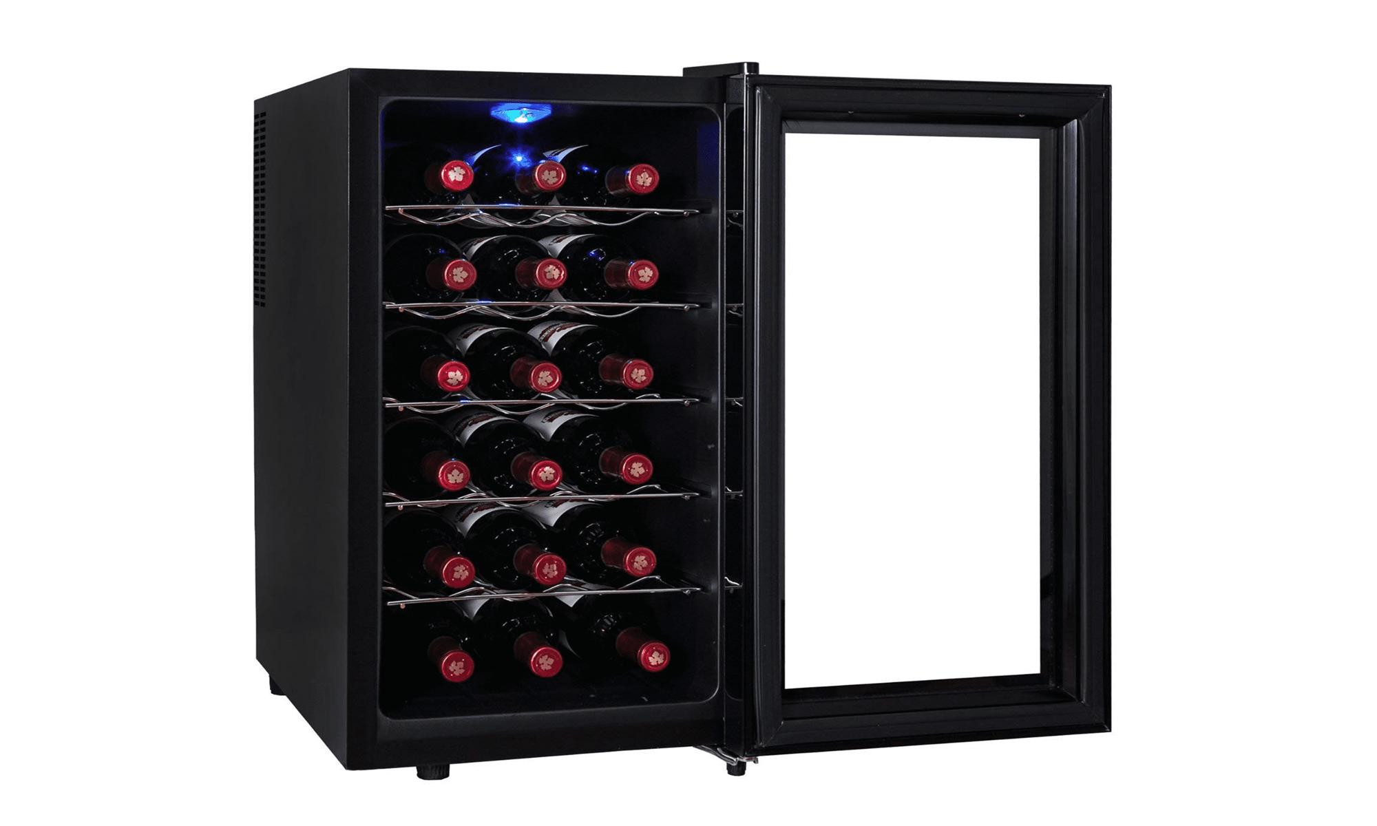 Kalamera KR-18JPE Freestanding Touchscreen Wine Cooler