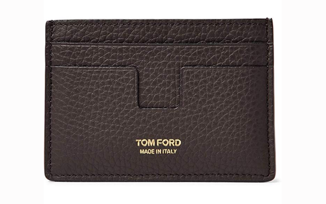 Tom Ford Leather Credit Card Wallet