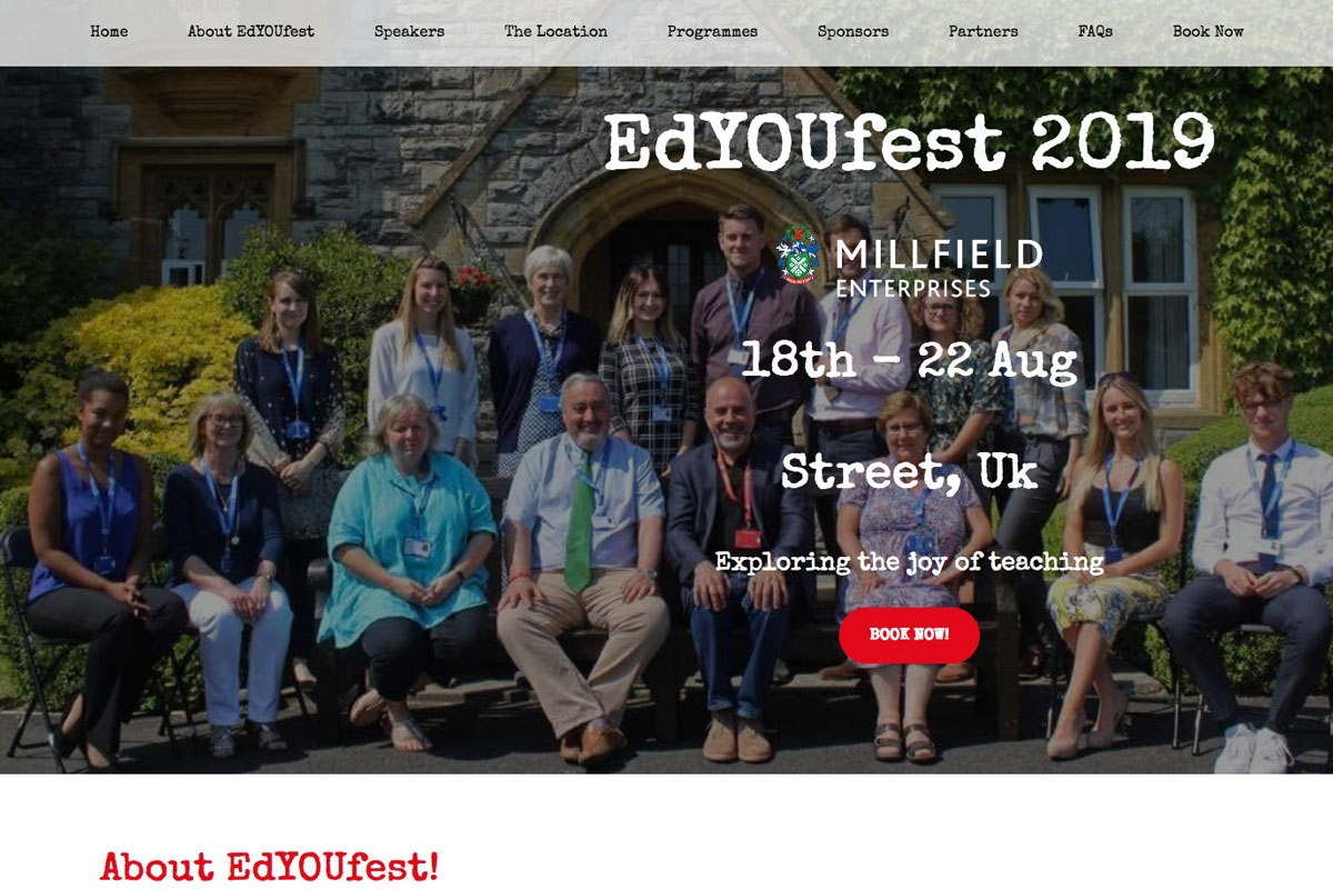 Presenter Profile : EdYouFest