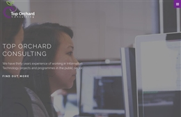 Top Orchard Consulting Ltd - IT Consulting website design by Toolkit Websites, professional web designers