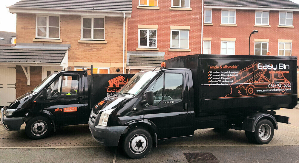 Easy Bin Rubbish Removals Van