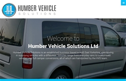 Humber Vehicle Solutions Ltd  - Automotive website design by Toolkit Websites, expert web designers