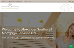Alexander Southwell Mortgages - Property website design by Toolkit Websites, professional web designers