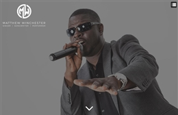 Matthew Winchester - Music Artist website design by Toolkit Websites, professional web designers