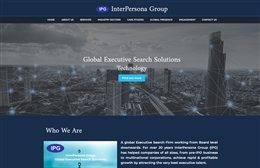 Interpersona Group - Recruitment website design by Toolkit Websites, professional web designers
