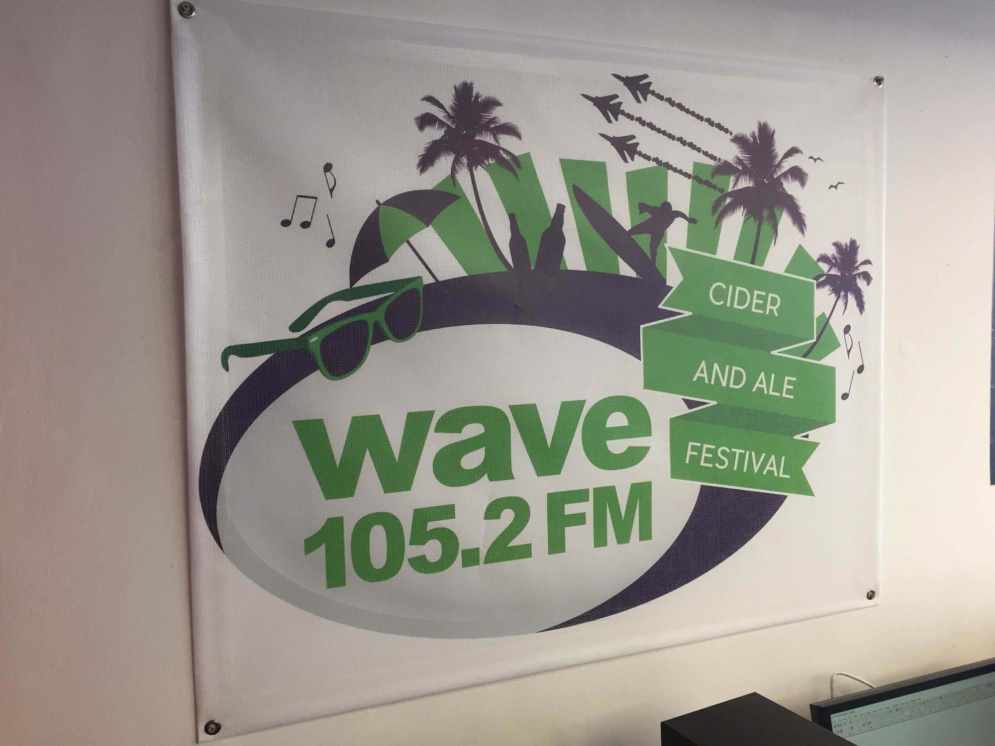 Wave 105 Banner