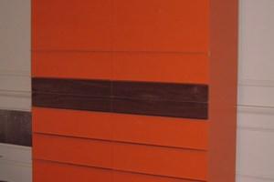 Storage unit with custom paint finish