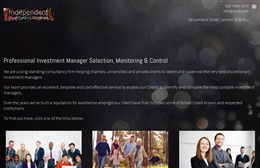 Independent Investment Reviews - Financial web design by Toolkit Websites, professional web designers