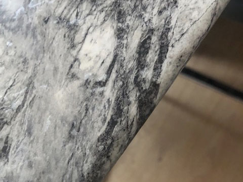 Caesarstone, Marble Worktop chip repair, after