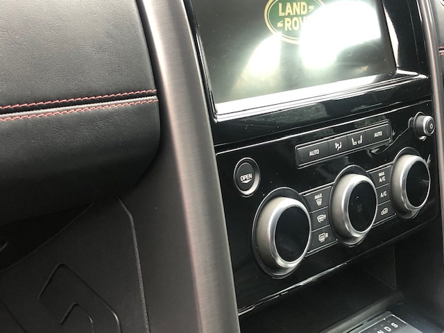 Land Rover discovery, scratch repair to interior trim, after