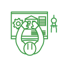 Process and Consultant Management Icon