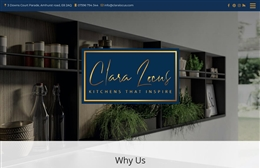 Clara Locus  - Architects web design by Toolkit Websites, professional web designers