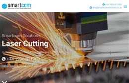 SmartCom Solutions  - Facilities Management website design by Toolkit Websites, professional web designers