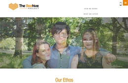 The Beehive Project  - Charity web design by Toolkit Websites, professional web designers