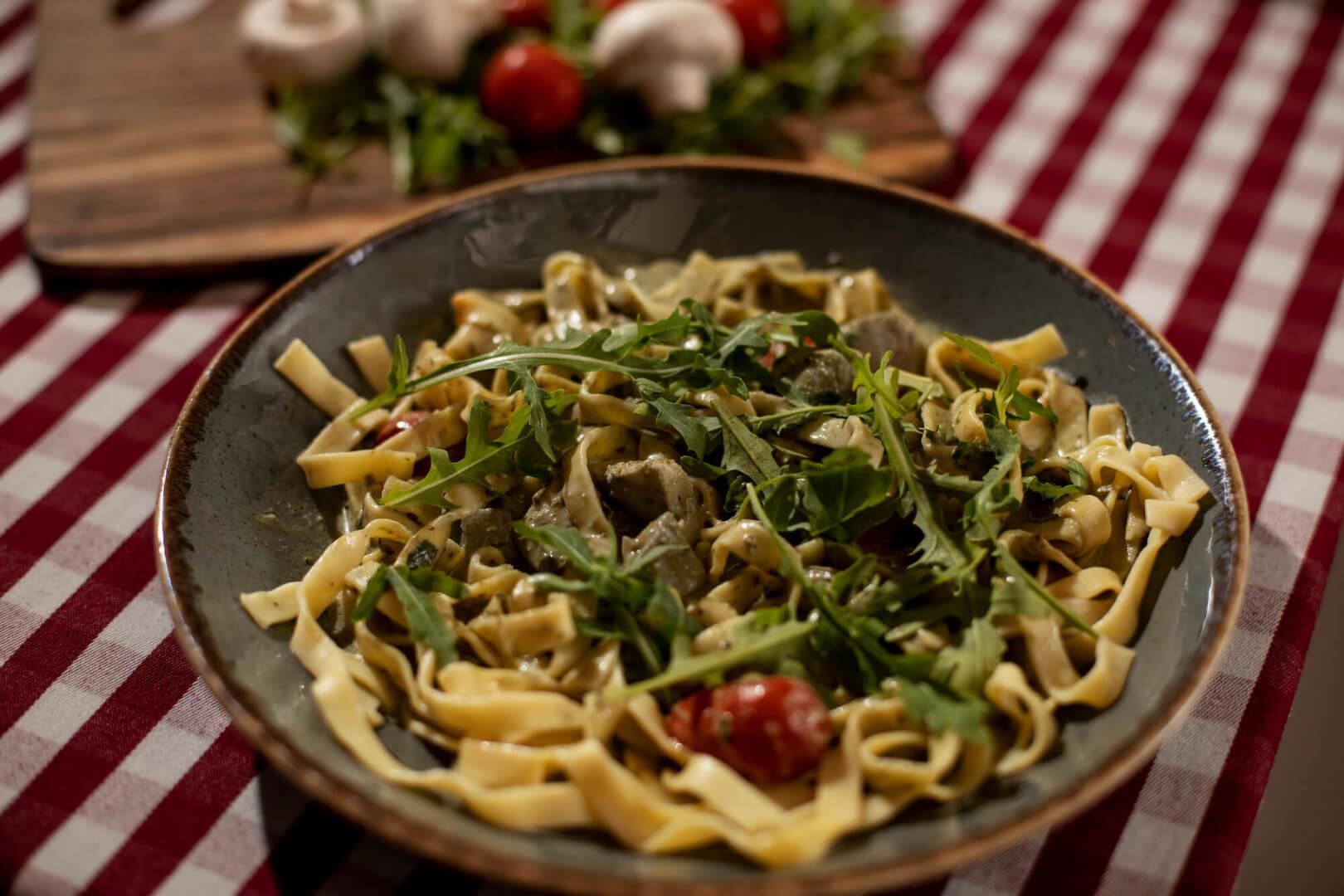 Authentic Italian Pasta Dish