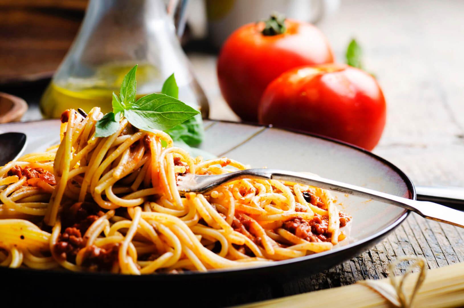 Spaghetti Pasta Meal