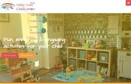 Tiddly Toes Child Minder - Child Minder website design by Toolkit Websites