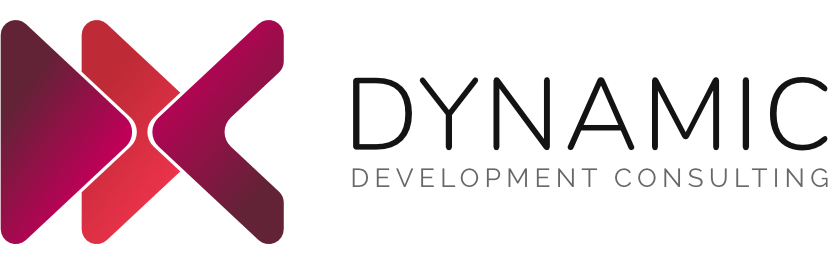 DDC Logo | Dynamic Development Consulting | Coloured | Graphic Logo
