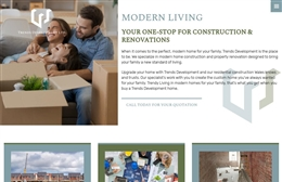 Malci Construction - Building Works website design by Toolkit Websites, professional web designers