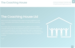 The Coaching House - website design by Toolkit Websites, professional web designers