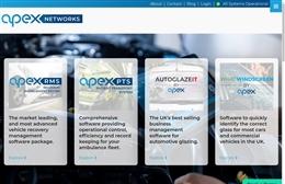 Apex Networks - website design by Toolkit Websites, professional web designers
