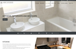 Abbey Interiors -  Web Design by Toolkit Websites