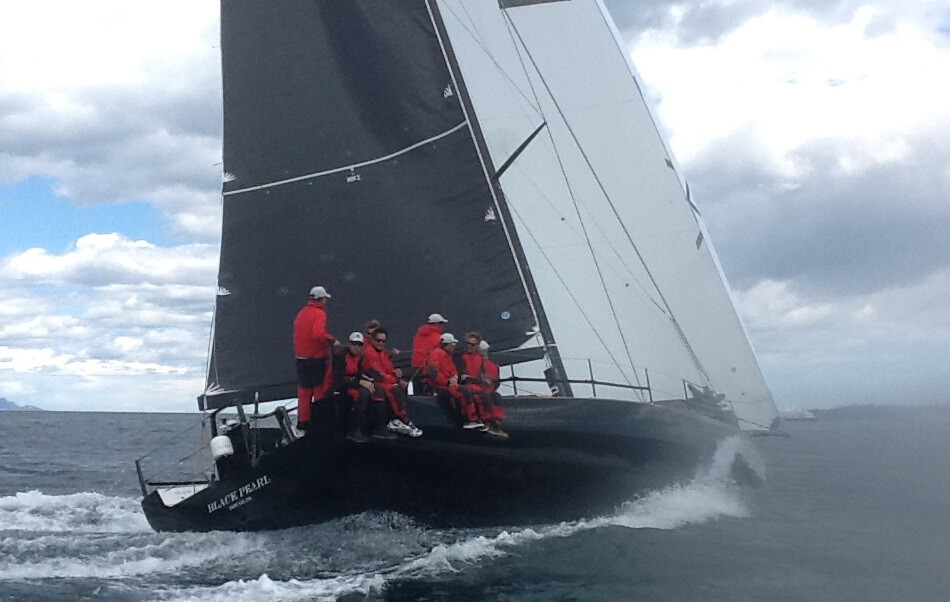 Owen Clarke Design are specialists in rudder and foil design for racing yachts. This is Black Pearl, a yacht designed to the IRC / ORC rules, one of the latest for which OC have designed a new rudder.