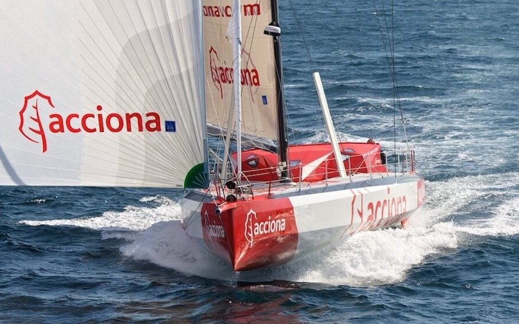 Acciona is the latest IMOCA Open 60  racing yacht to have been designed by Owen Clarke Design