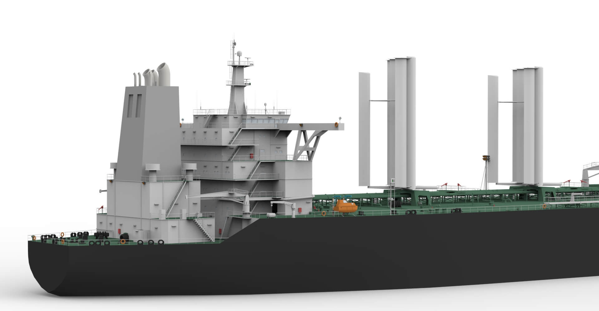 Owen Clarke Design have been involved in the design of wind propulsion assist technology for the commercial shipping sector for twenty-five years. OC were the engineers of an early carbon wing sail with potential ship applications that was built in the UK in the early 90s.