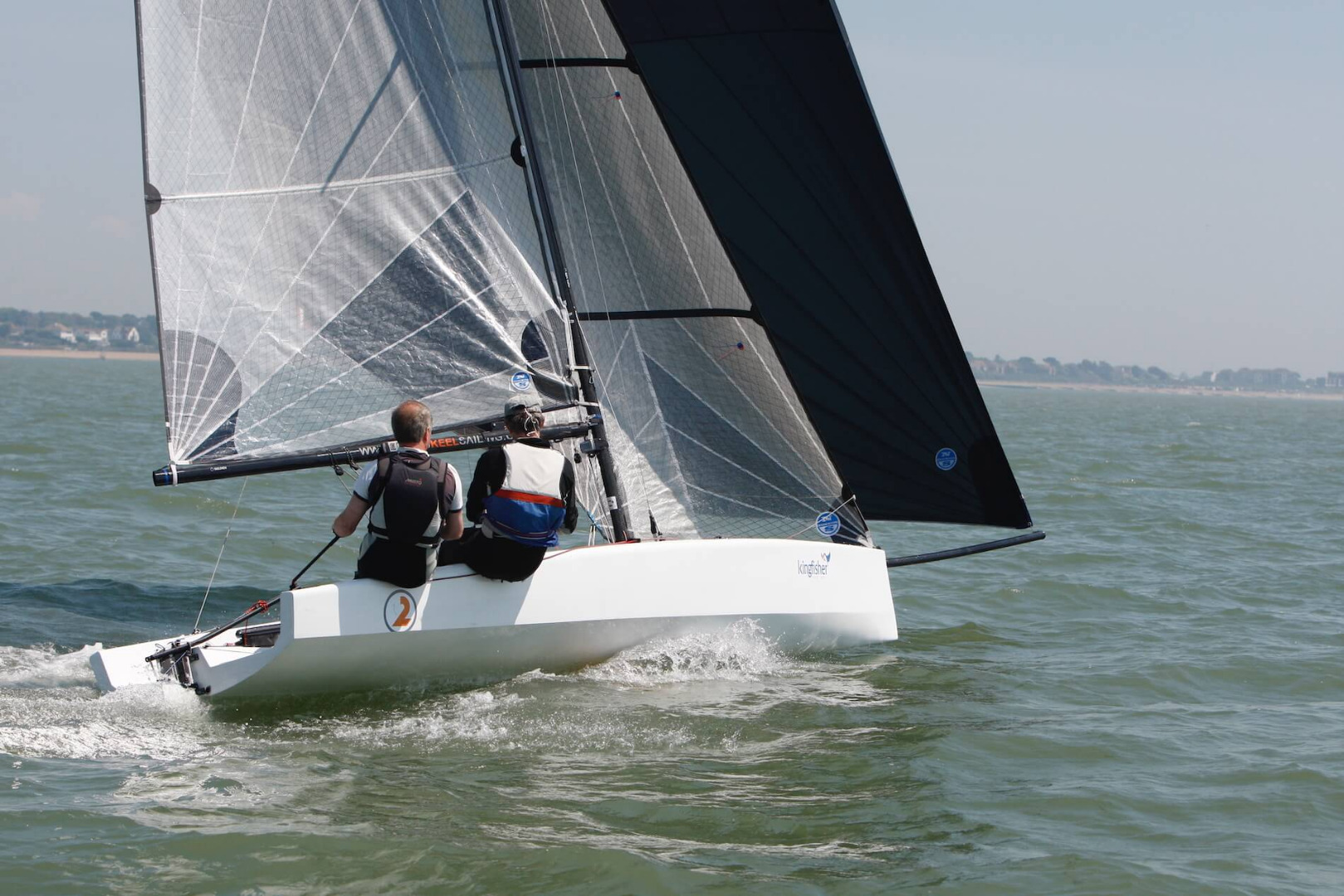 Acting as a design consultancy the 5.6m, the SK2 is the smallest keel boat design we've been. We had a small part to play as consultant naval architects and designers, refining the keel design and engineering after the initial prototype of this one design sports boat / dinghy was built.
