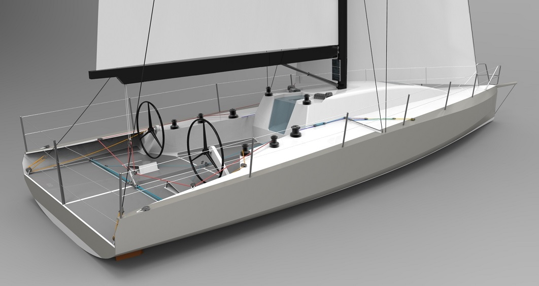 Owen Clarke design are experienced in the optimisation of racing yachts to rating rules such as IRC and ORC. The OCD 401 shown here is effectively a Class 40 optimised to the IRC rule.