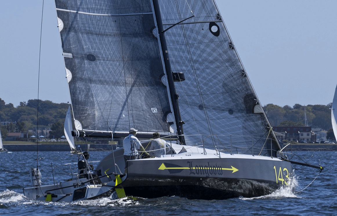 Longbow is a Class 40 racing yacht  by designers Owen Clarke Design. She was built  optimised specifically for racing on the east coast of the USA and has the first and only masthead rig in Class 40.