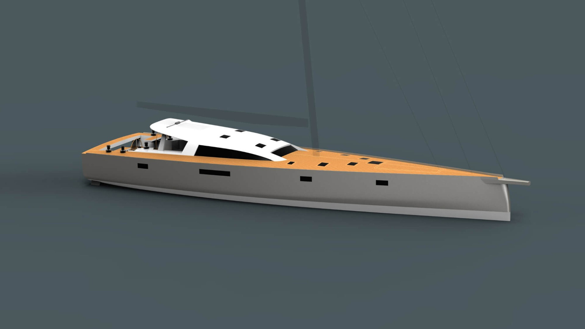 Owen Clarke Design (OCD) are pleased to announce that design is well under way on a new 23m lifting keel, performance blue water custom cruising expedition yacht for a Scandinavian client. Construction will commence in Europe at a yard yet to be determined.