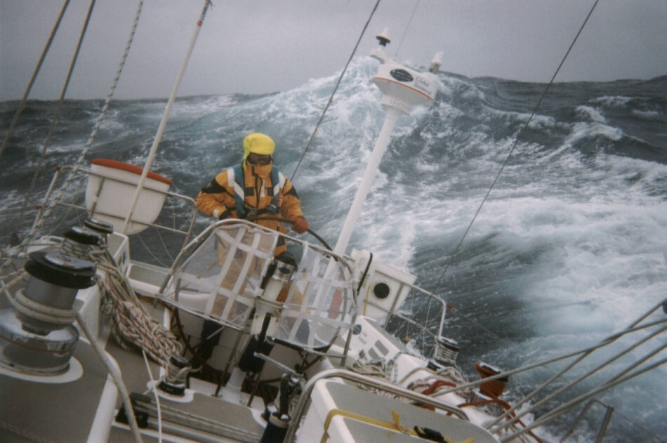 There must be only a handful of yacht designers with experience of both high latitude cruising and heavy weather sailing in the Southern Ocean. Merfyn Owen of Owen Clarke Design has done both, rounding Cape Horn twice and sailed above both 60 North and 60 South.