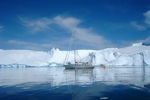 Merfyn Owen's Skycatcher Greenland climbing/sailing expedition