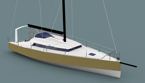40' Blue water lifting keel cruising yacht : Owen Clarke